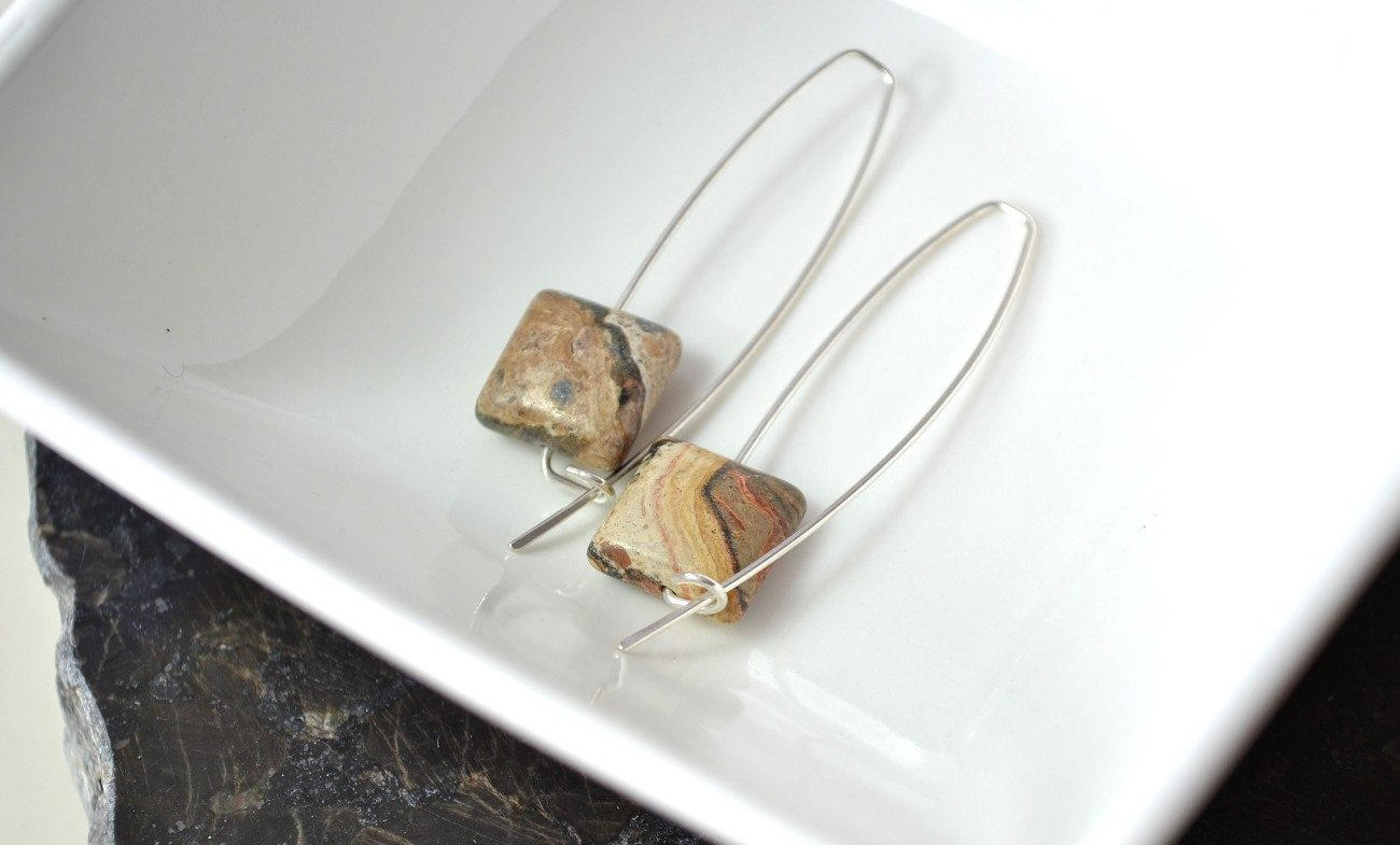 Natural Gemstone Sterling Silver Jewelry by Stone Willow
